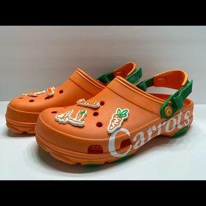 NEW Crocs X Carrots Limited Edition RARE Clogs